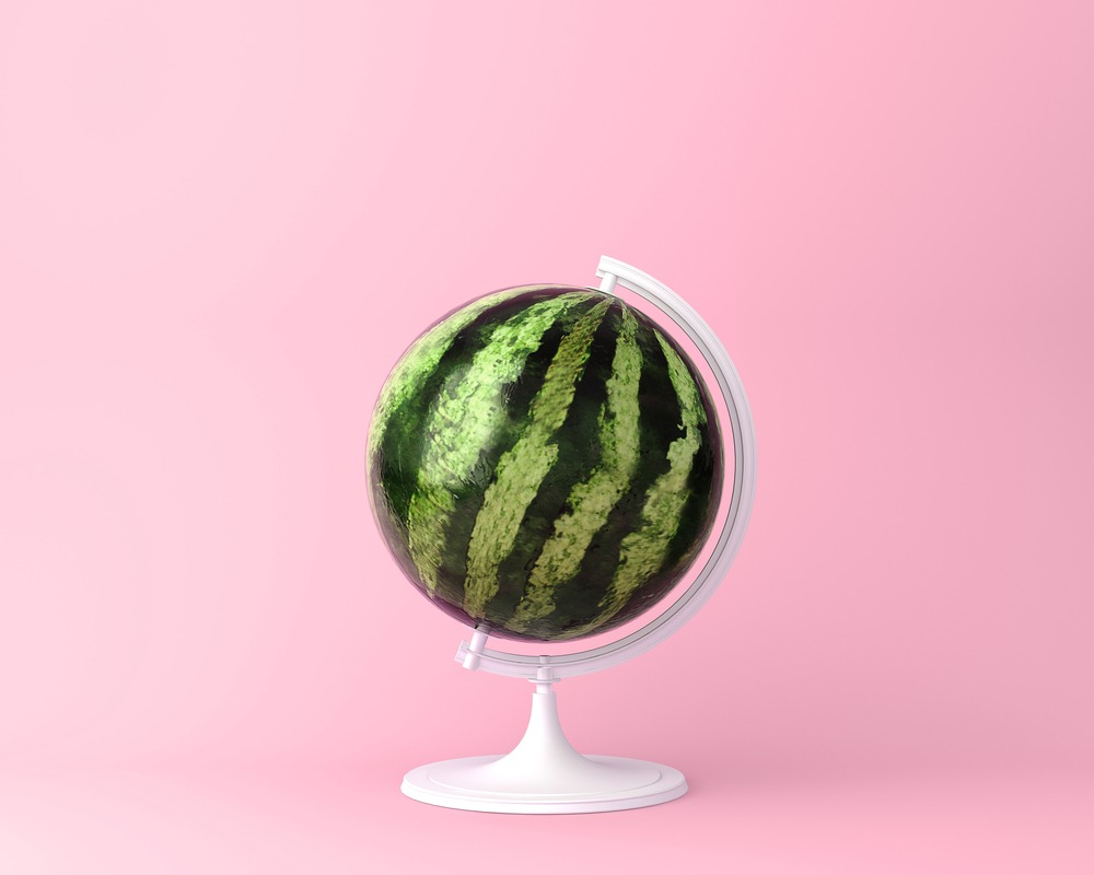 it's a watermelon world